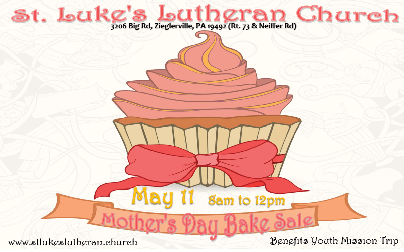 mothers day bake sale