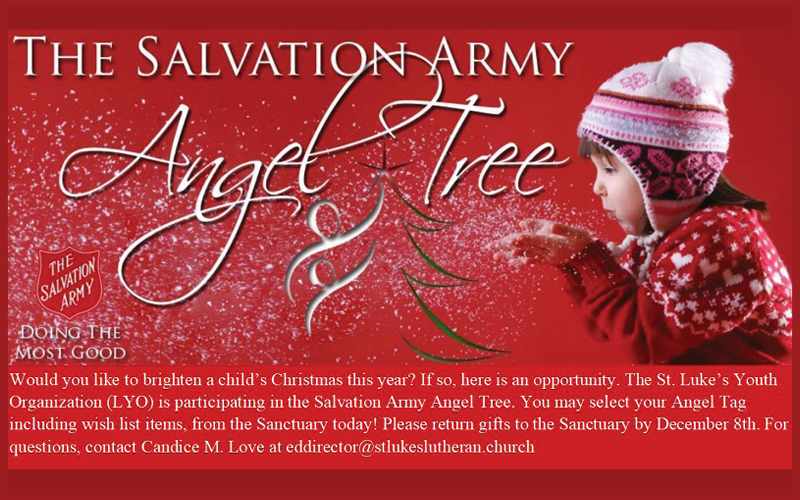 salvation army support youth group