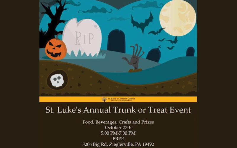 st lukes trunk or treat slider