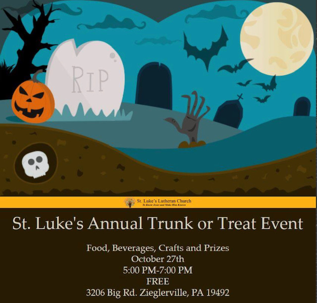 st lukes trunk or treat